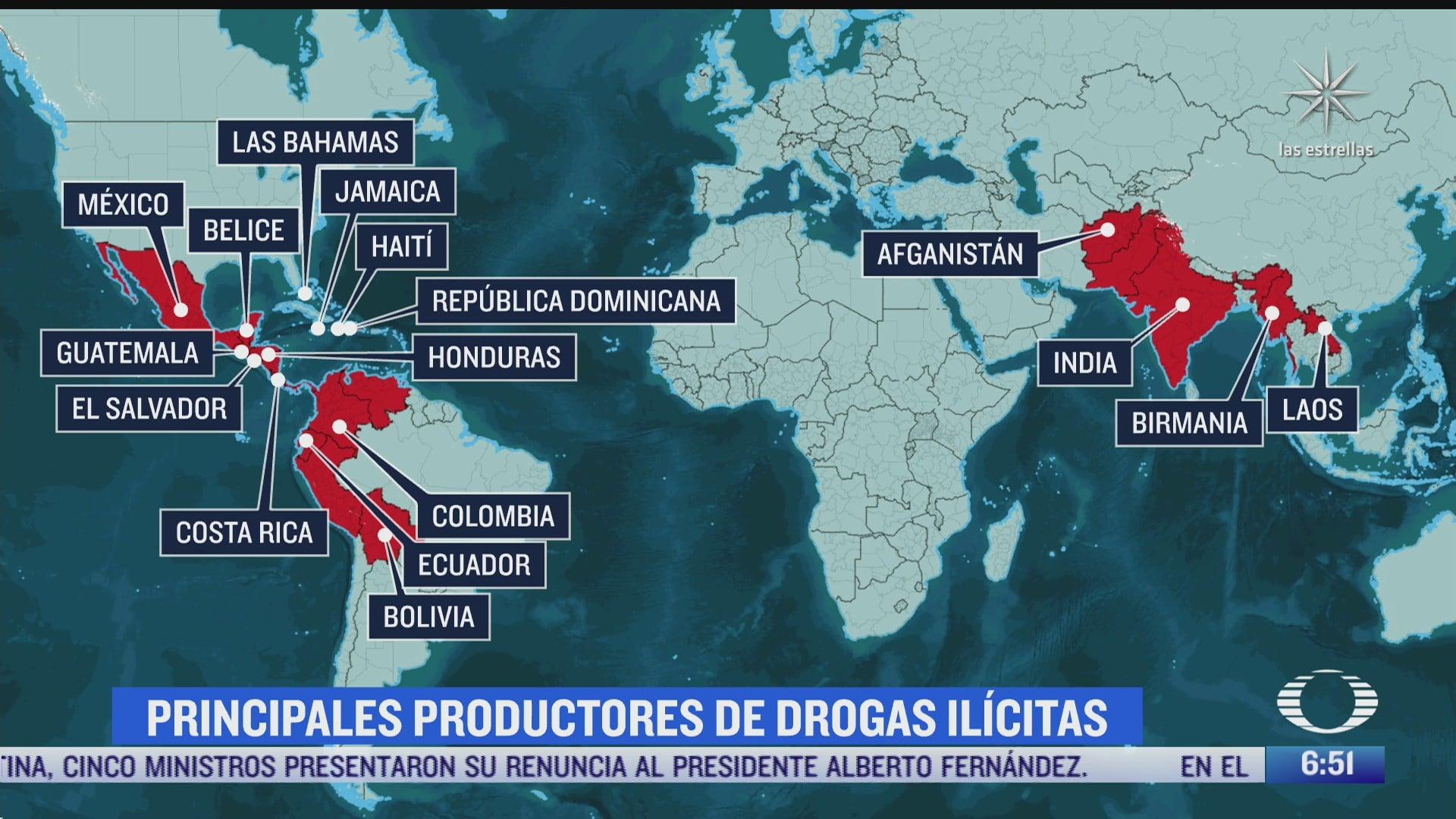 mexico uno de principales productores de drogas ilicitas segun biden