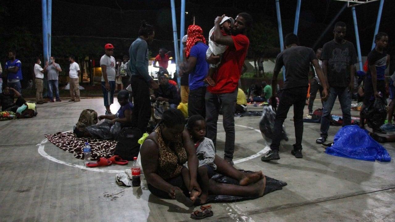 Operativos de Guardia Nacional y el INM contra caravana migrante en Chiapas (Cuartoscuro)