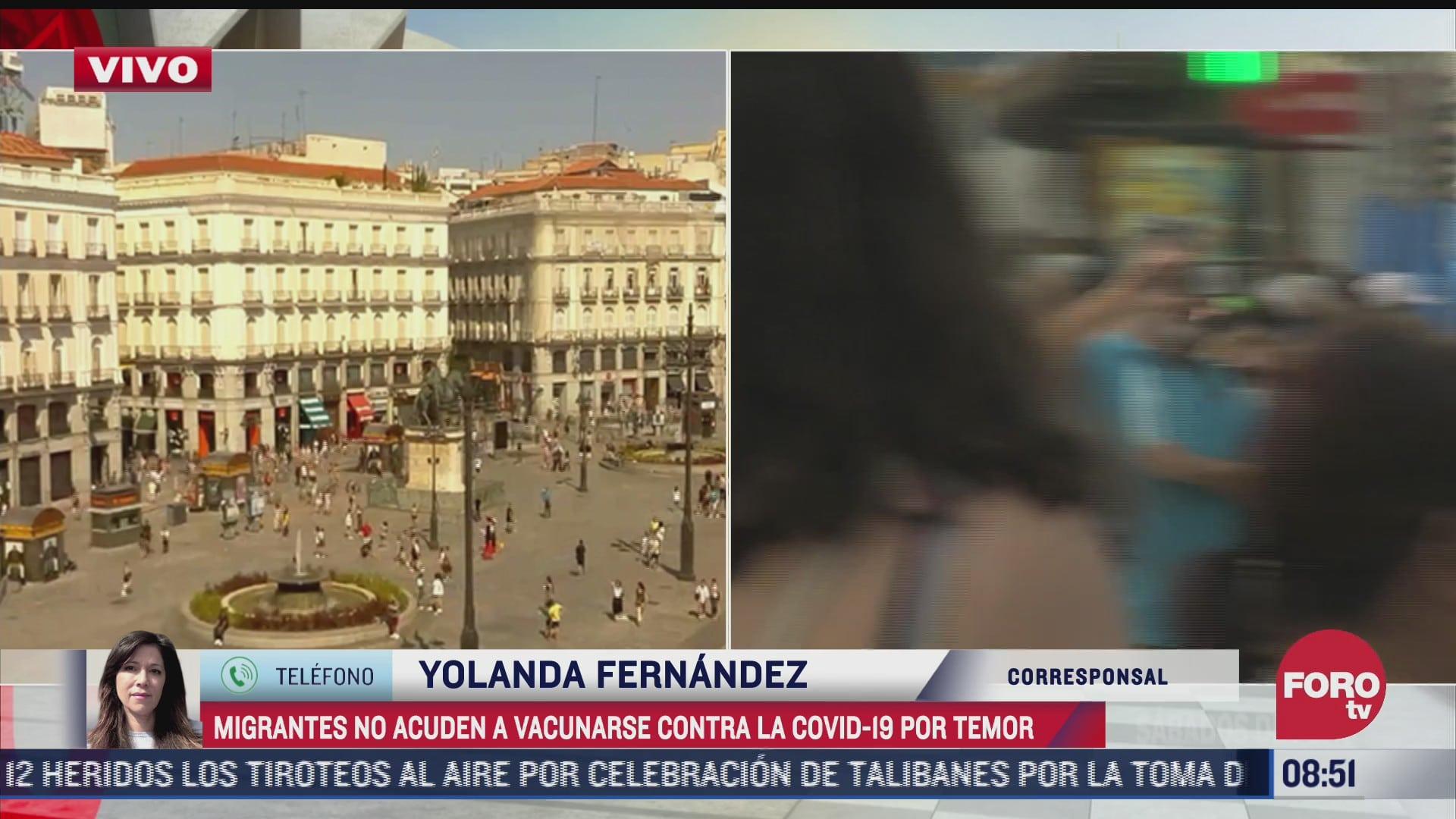 migrantes no acuden a vacunarse en espana
