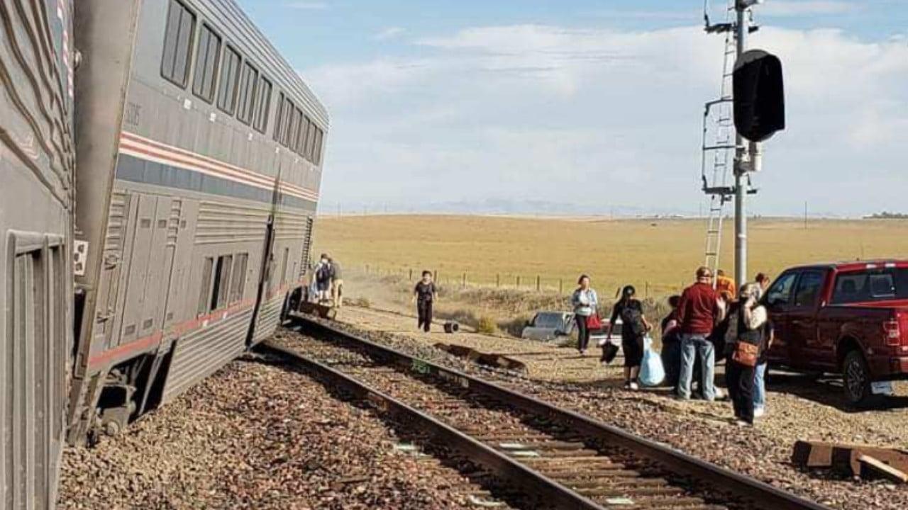Montana, Tren, Accidente, Amtrak