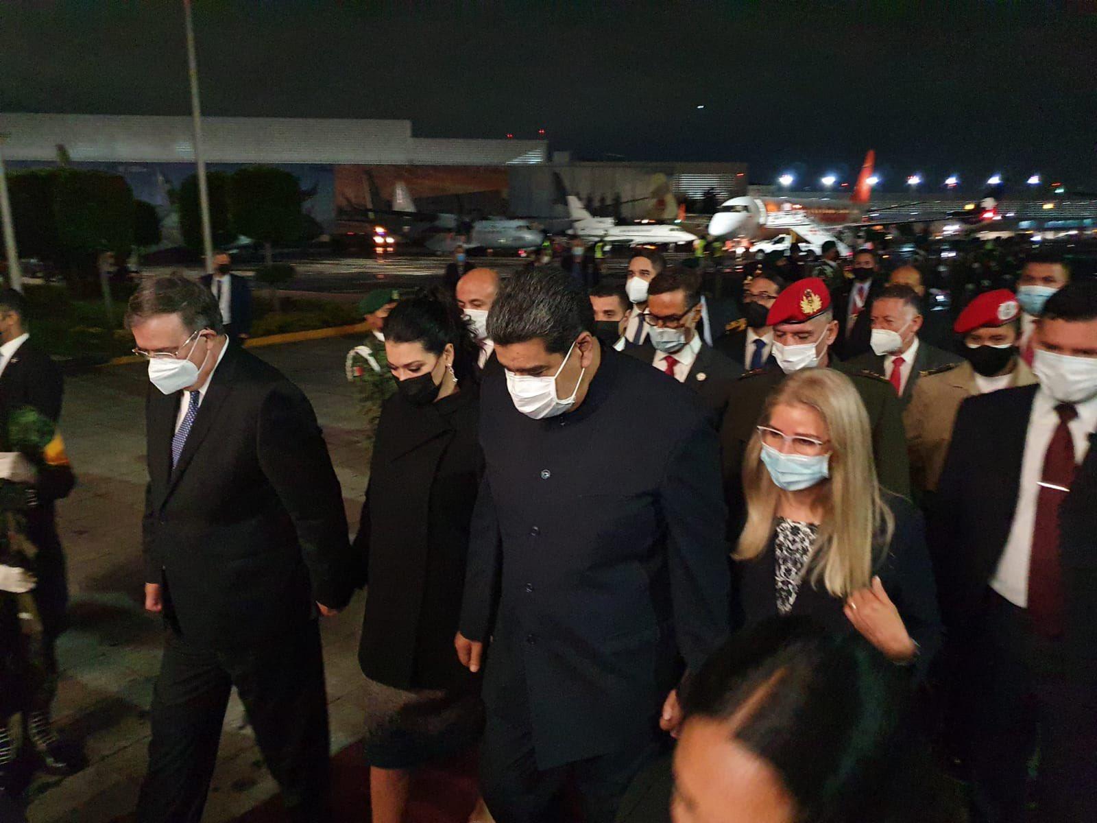 Nicolás Maduro llega a la CDMX, participara en la Cumbre de la CELAC