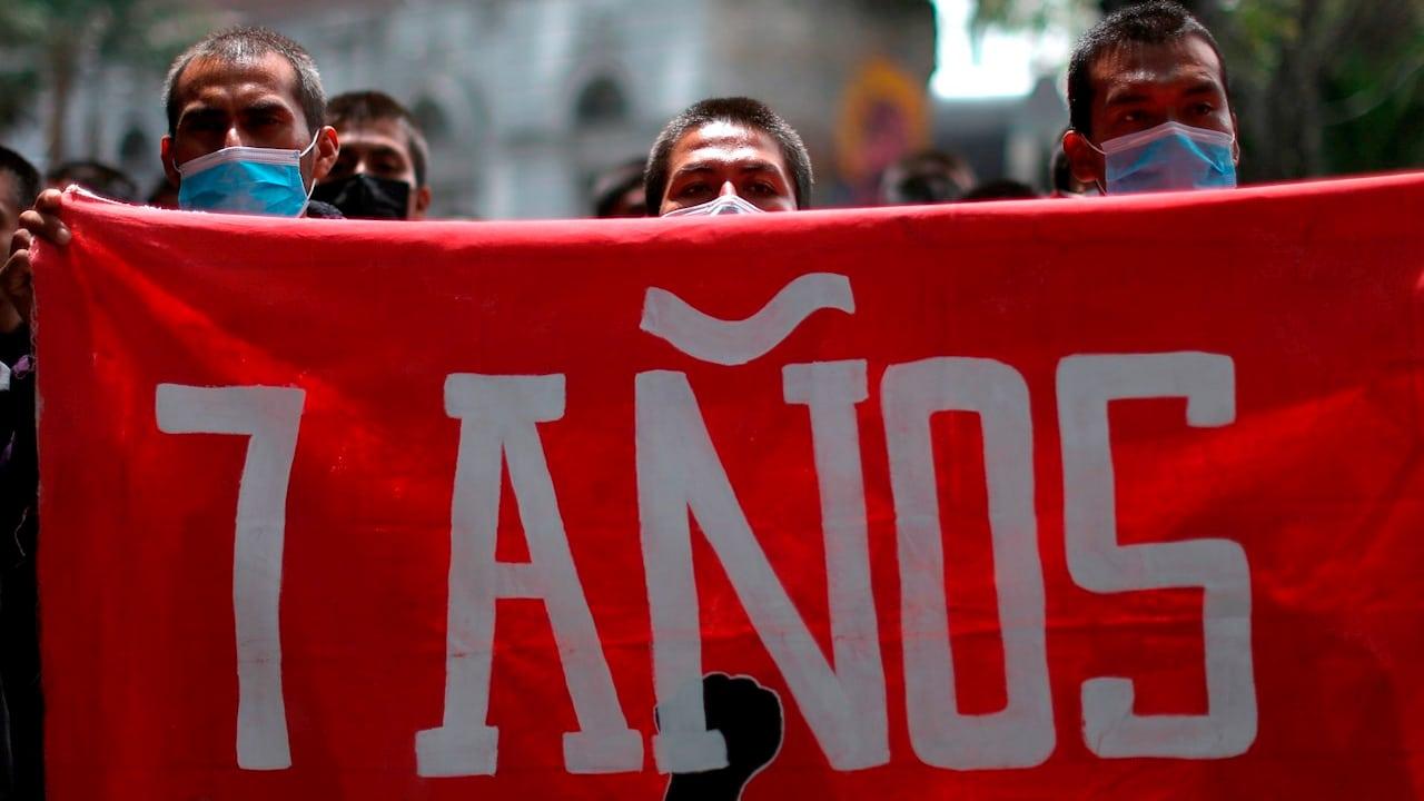 Se cumplen 7 años de la desaparición de 43 normalistas de Ayotzinapa
