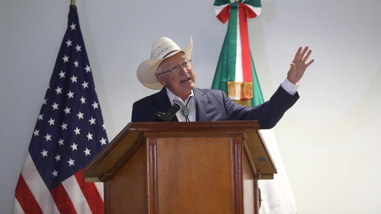 Nuevo embajador de EEUU llega a México con migración y pandemia de prioridad