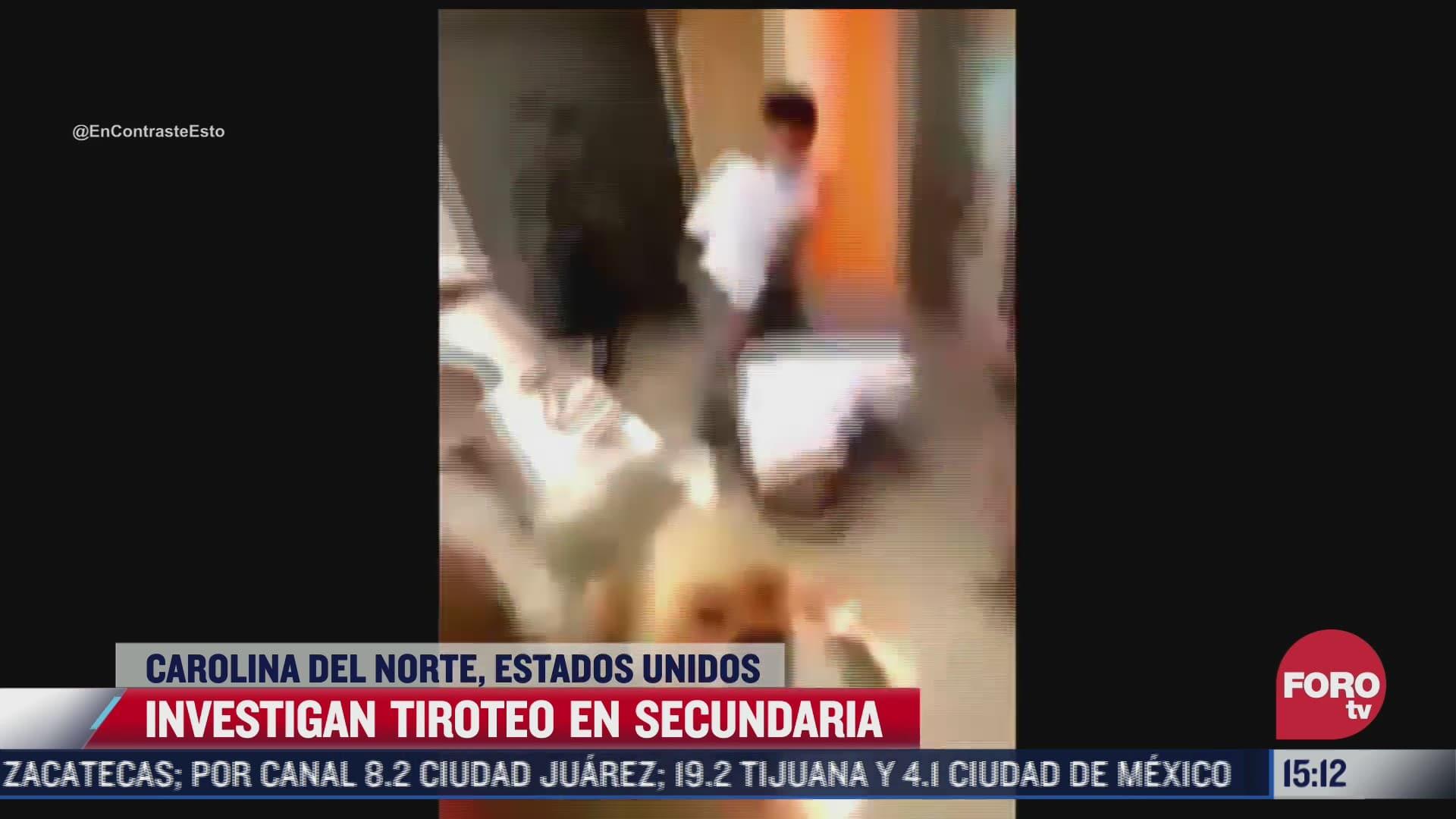pelea entre alumnos termina en tiroteo en secundaria