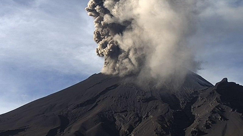 Fotos y videos: Intensa actividad del volcán Popocatépetl hoy 15 de septiembre