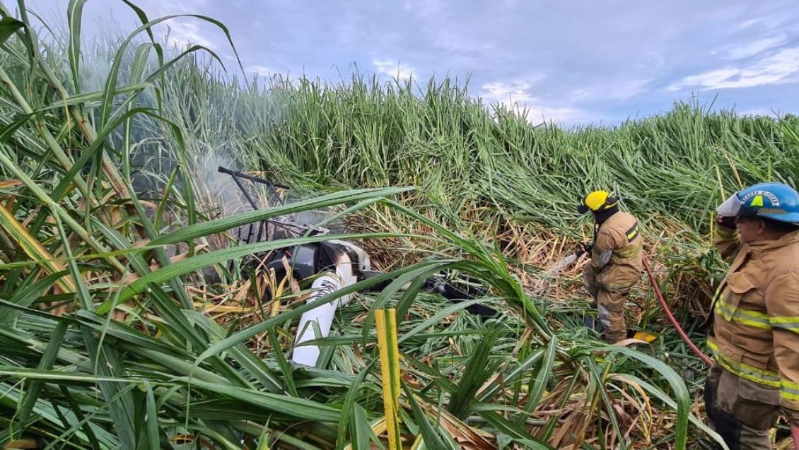 Cae aeronave monoplaza en Colima; el piloto resultó ileso