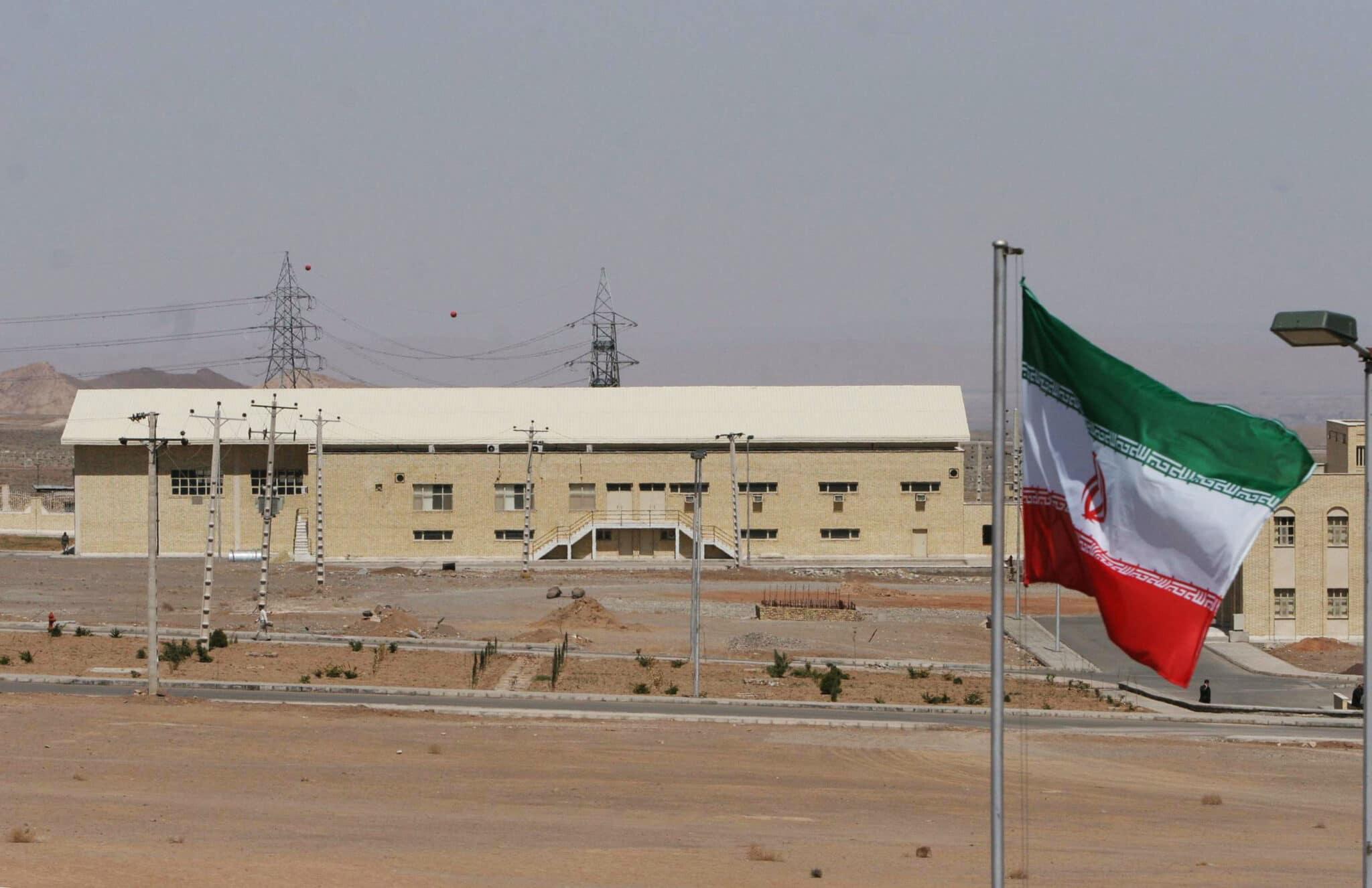 Una planta de energía nuclear iraní, al sur de Teherán.