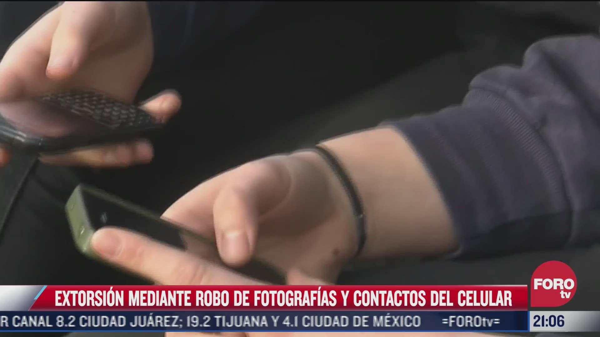 policia cibernetica alerta sobre extorsion mediante robo de fotos en celulares