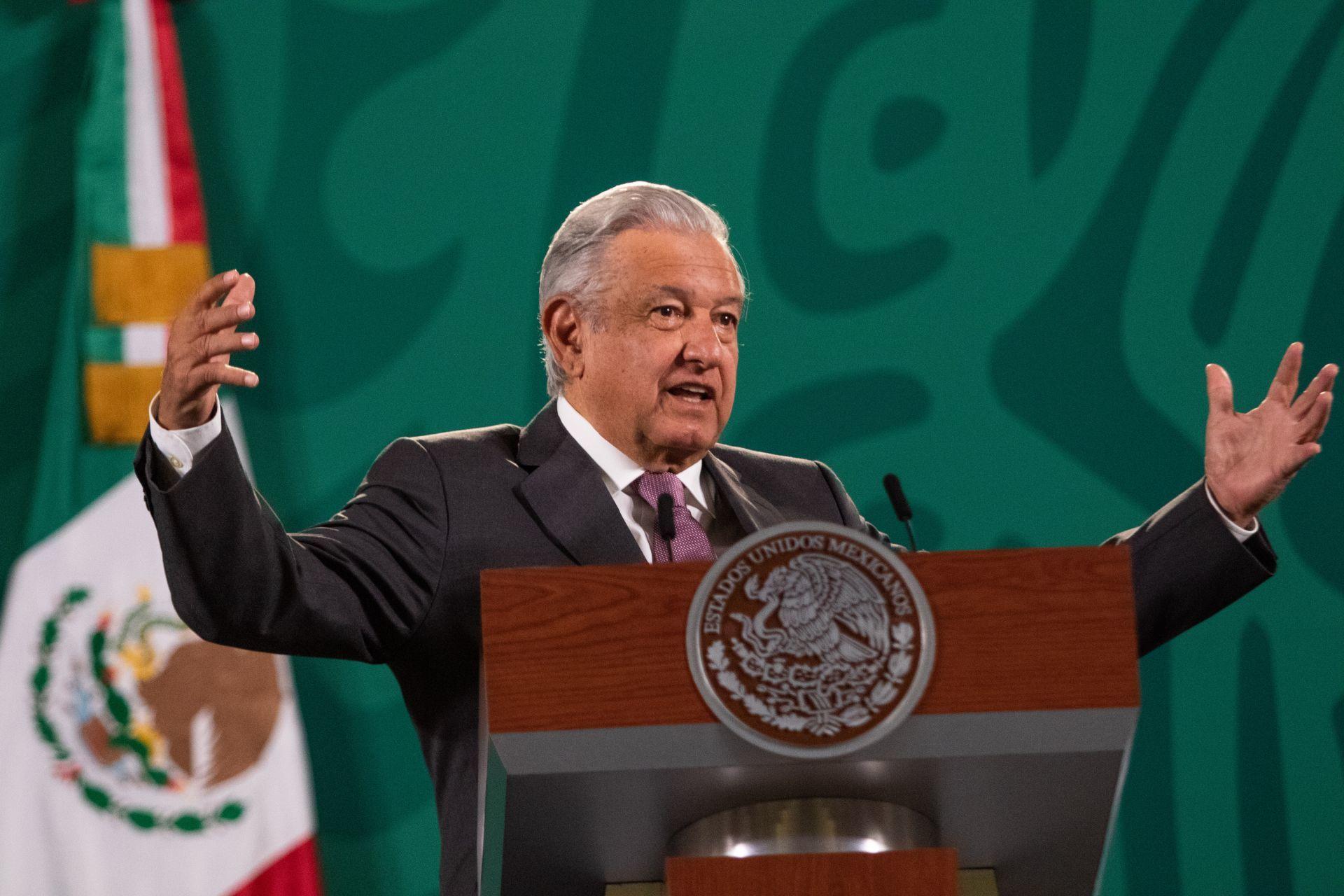 Andrés Manuel López Obrador, Presidente de México, habló sobre la consulta que se realizará en Marzo de 2022 en la que se someterá a la revocación de mandato.