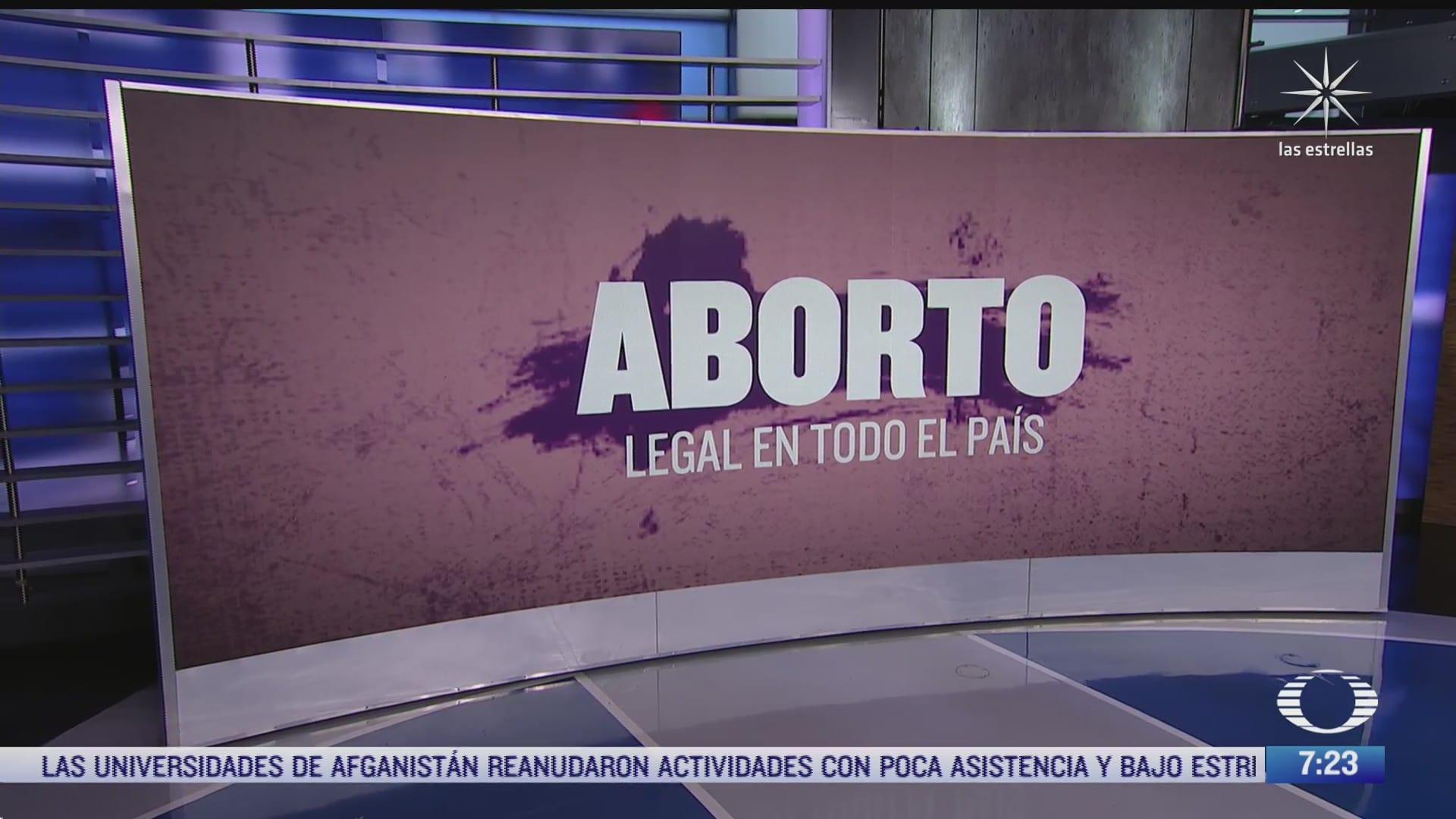 que propone el proyecto de la scjn sobre la despenalizacion del aborto en mexico