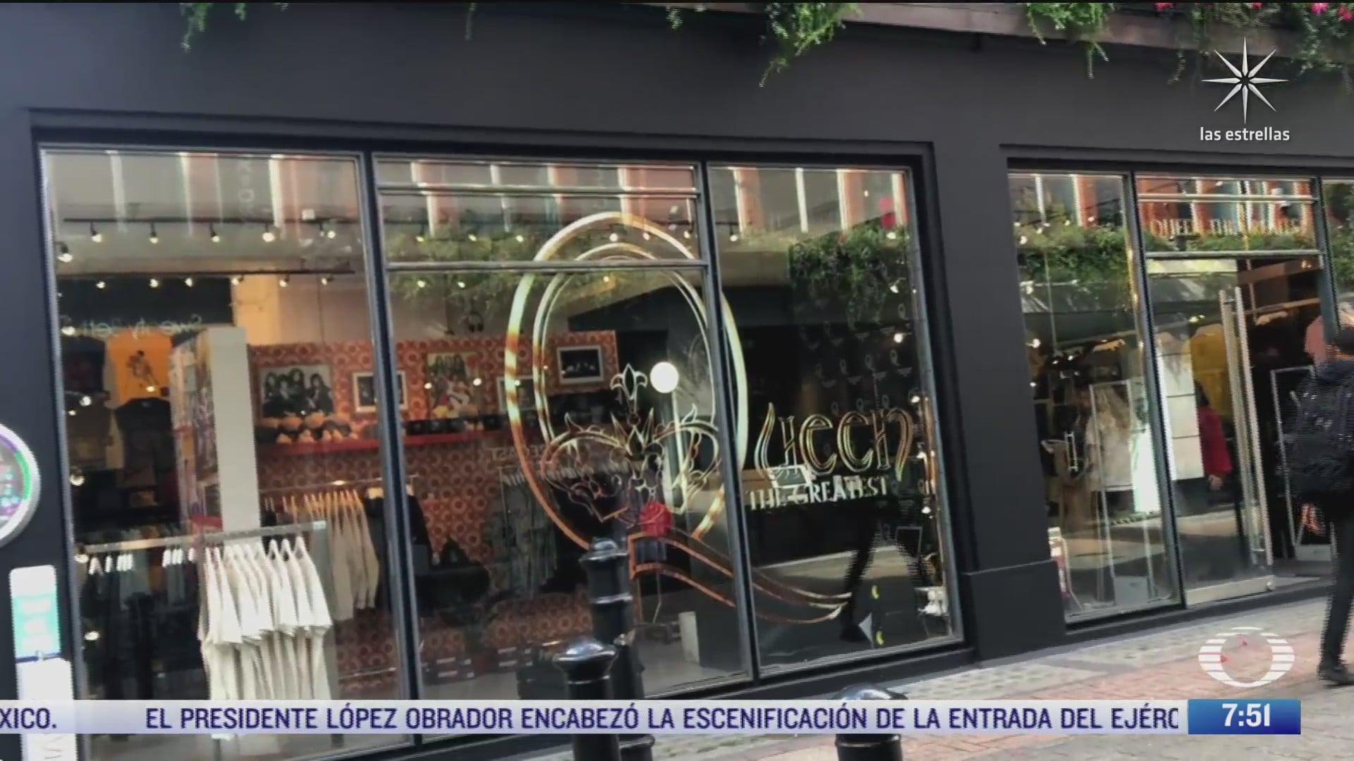queen abre tienda en el centro de londres