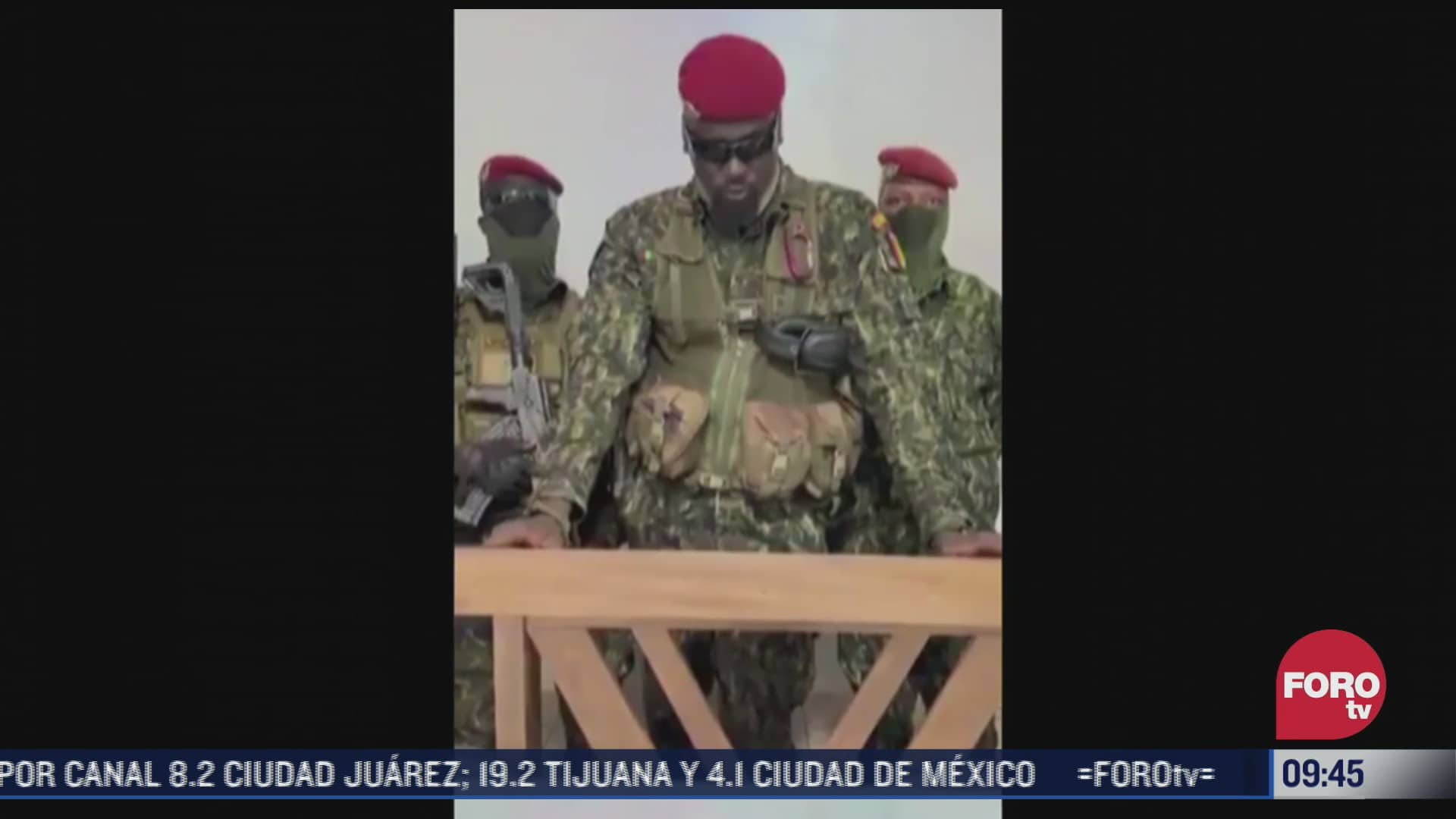 reportan golpe de estado en guinea