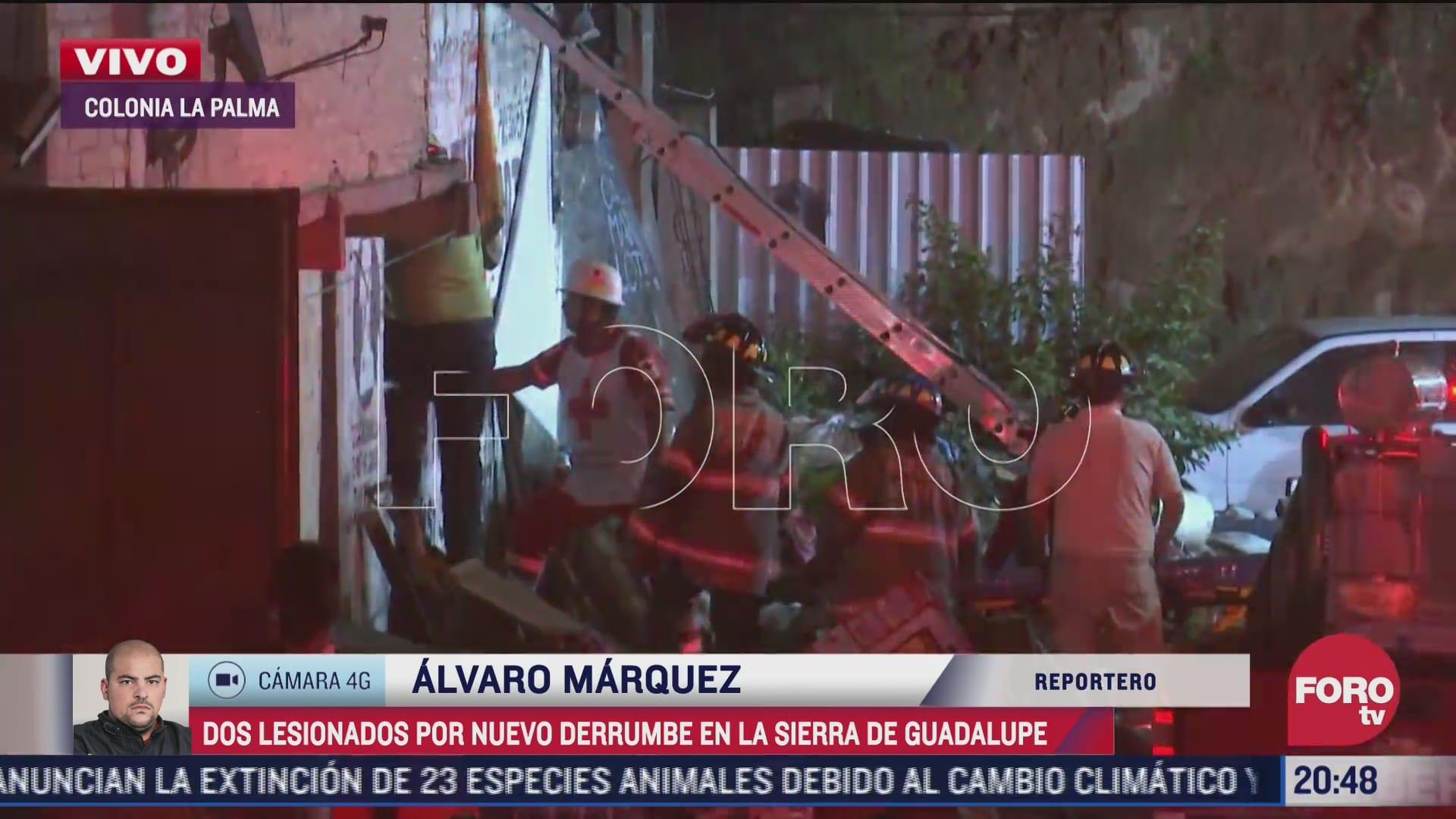 resguardan zona tras deslave que dano dos casas en ecatepec