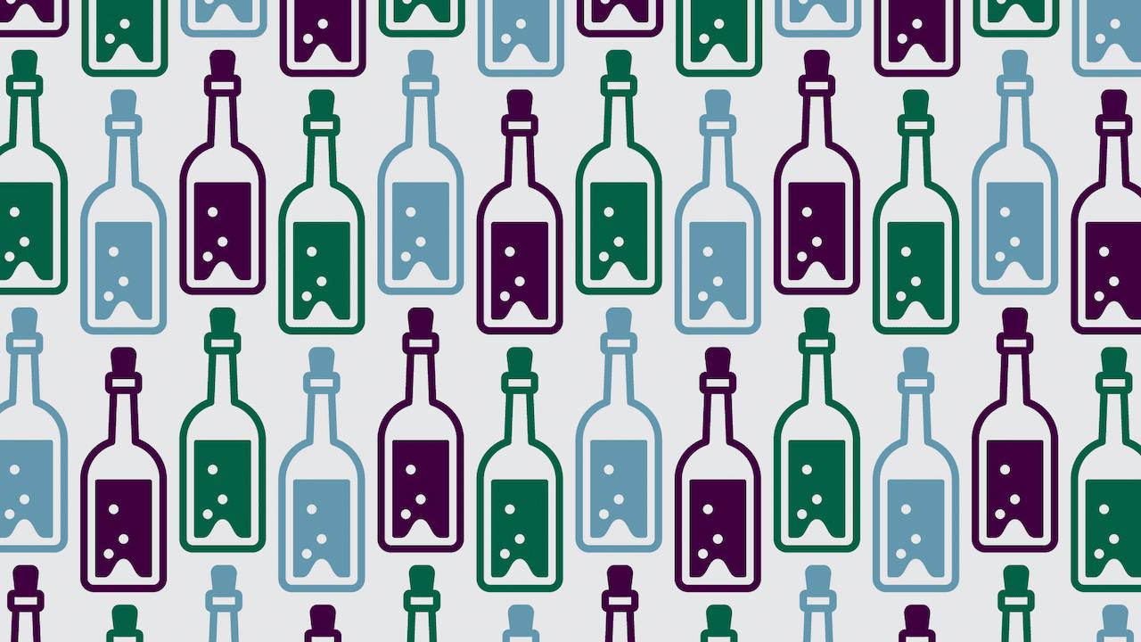 Viral reto visual botellas corcho