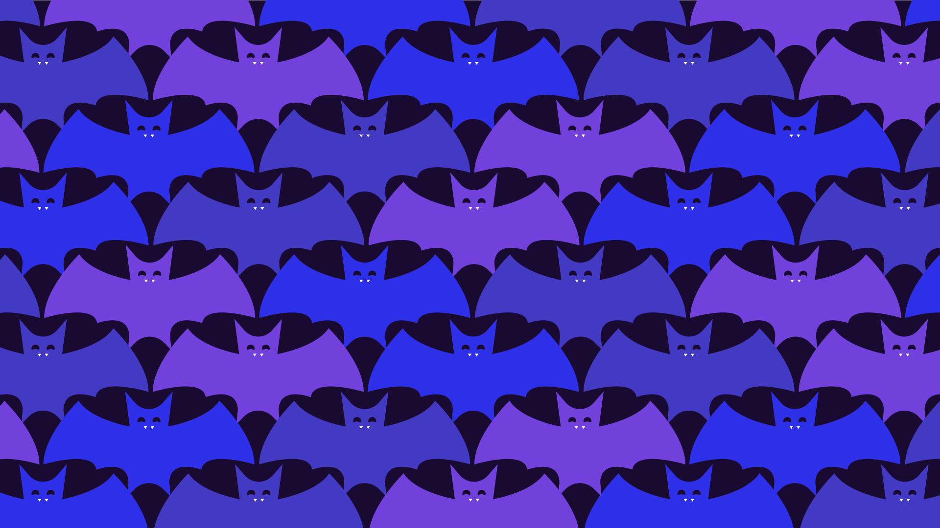 Reto viral visual: encuentra los murciélagos de cabeza