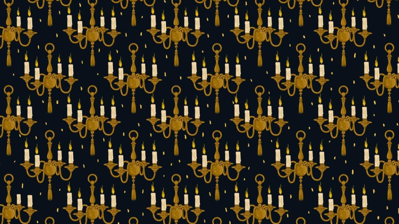 Viral: reto visual encuentra los candiles con velas apagadas