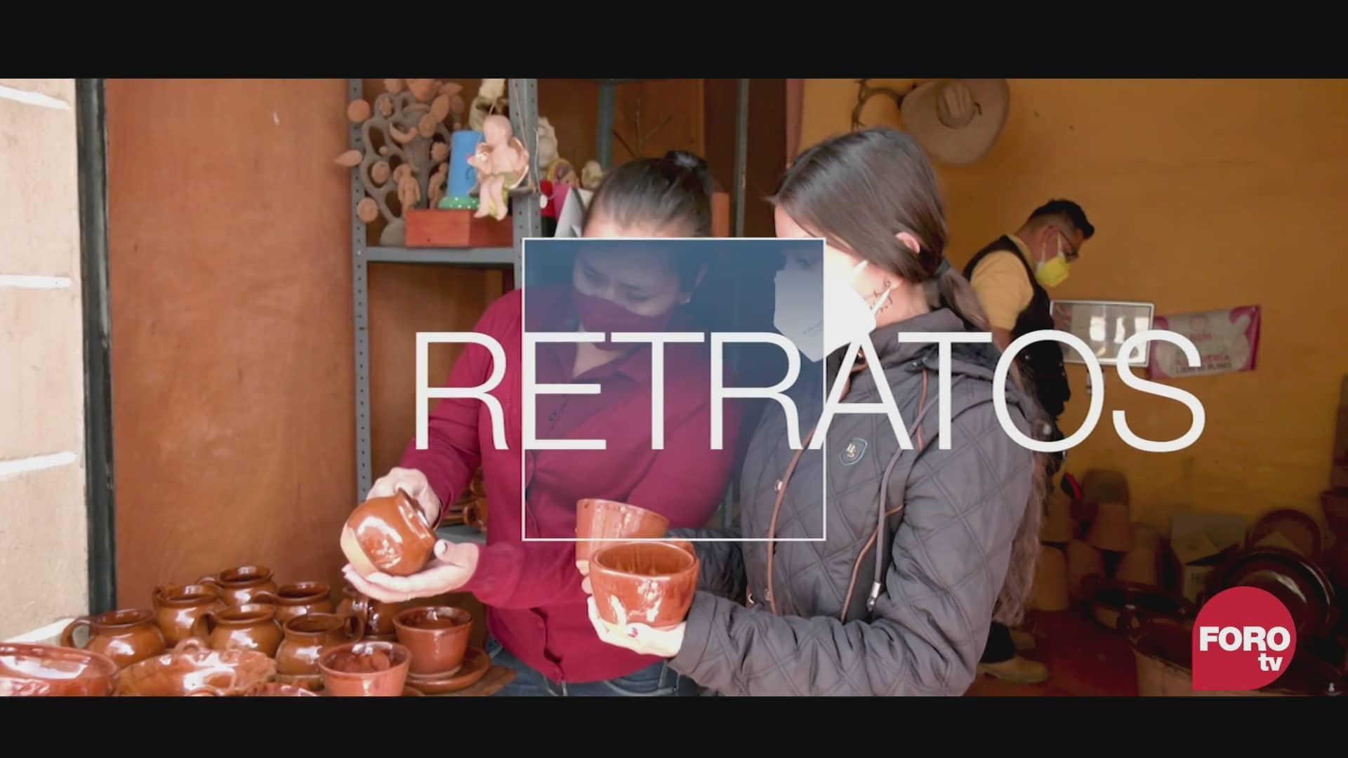 retratos de mexico artesanos de tlayacapan en morelos