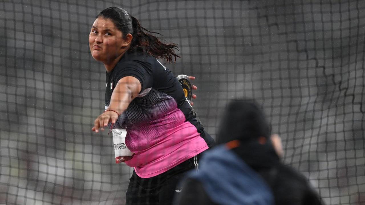 Rosa Carolina Castro gana medalla de bronce en Paralímpicos