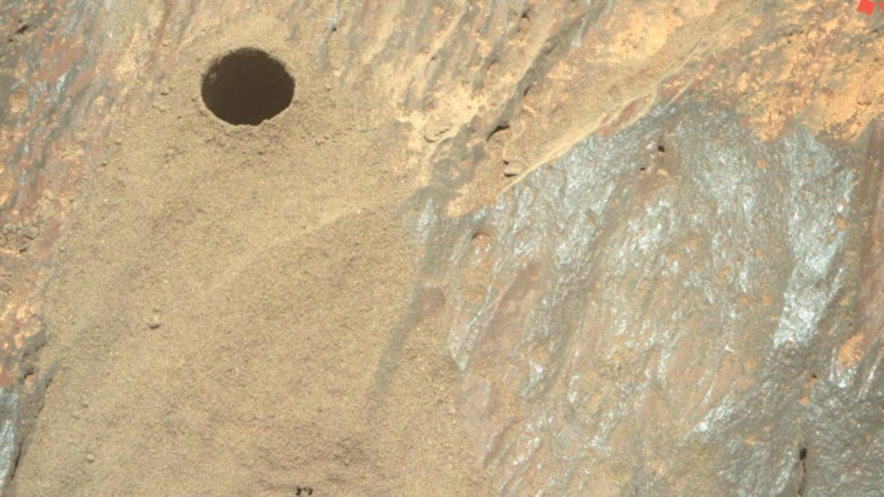 El rover Mars Perseverance de la NASA adquirió esta imagen usando su cámara Right Mastcam-Z (Nasa)