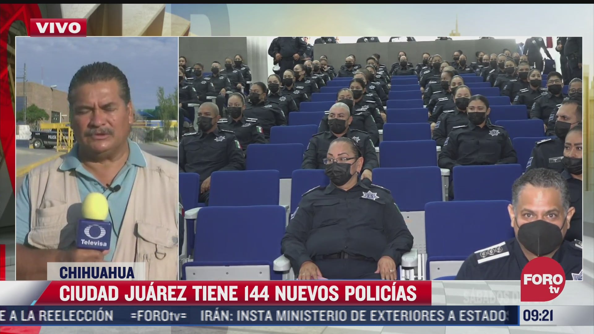 se graduan 144 nuevos policias en ciudad juarez chihuahua