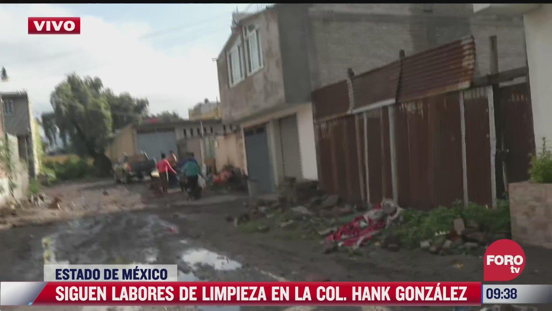seguimos sin ayuda declara afectada por las inundaciones en ecatepec estado de mexico