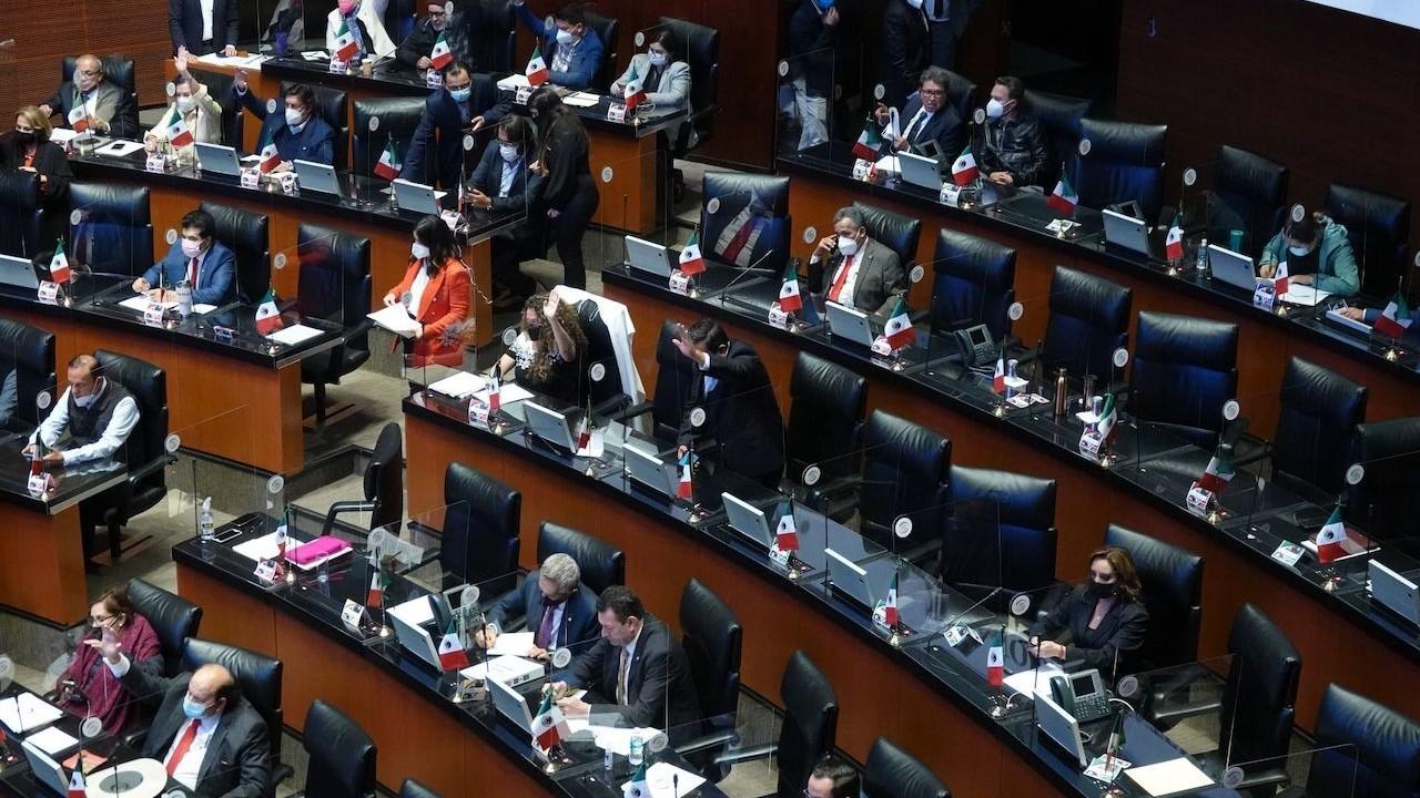 Sesión del Senado de la República de México (Archivo, Cuartoscuro)