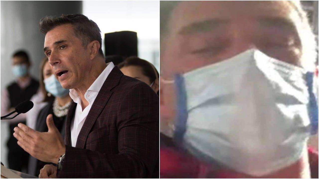 Sergio Mayer Hospital Hospitalizado Informó