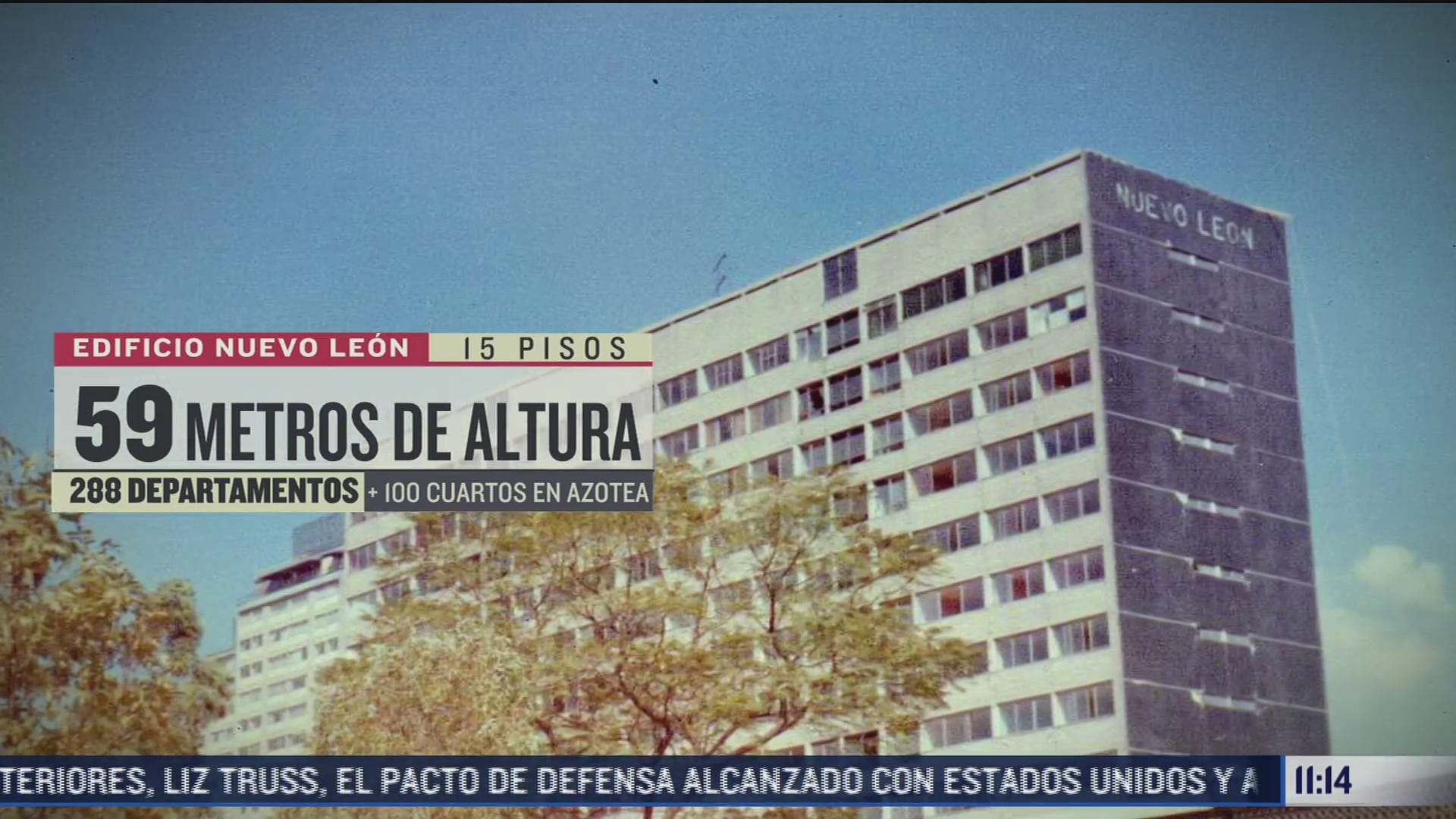 sismo de 1985 derrumbo al edificio nuevo leon en tlatelolco