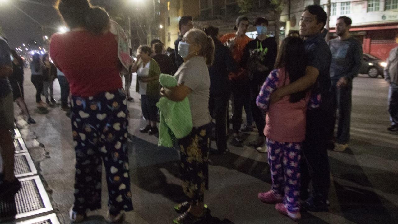 Sismos sacuden Baja California Sur y Guanajuato hoy domingo