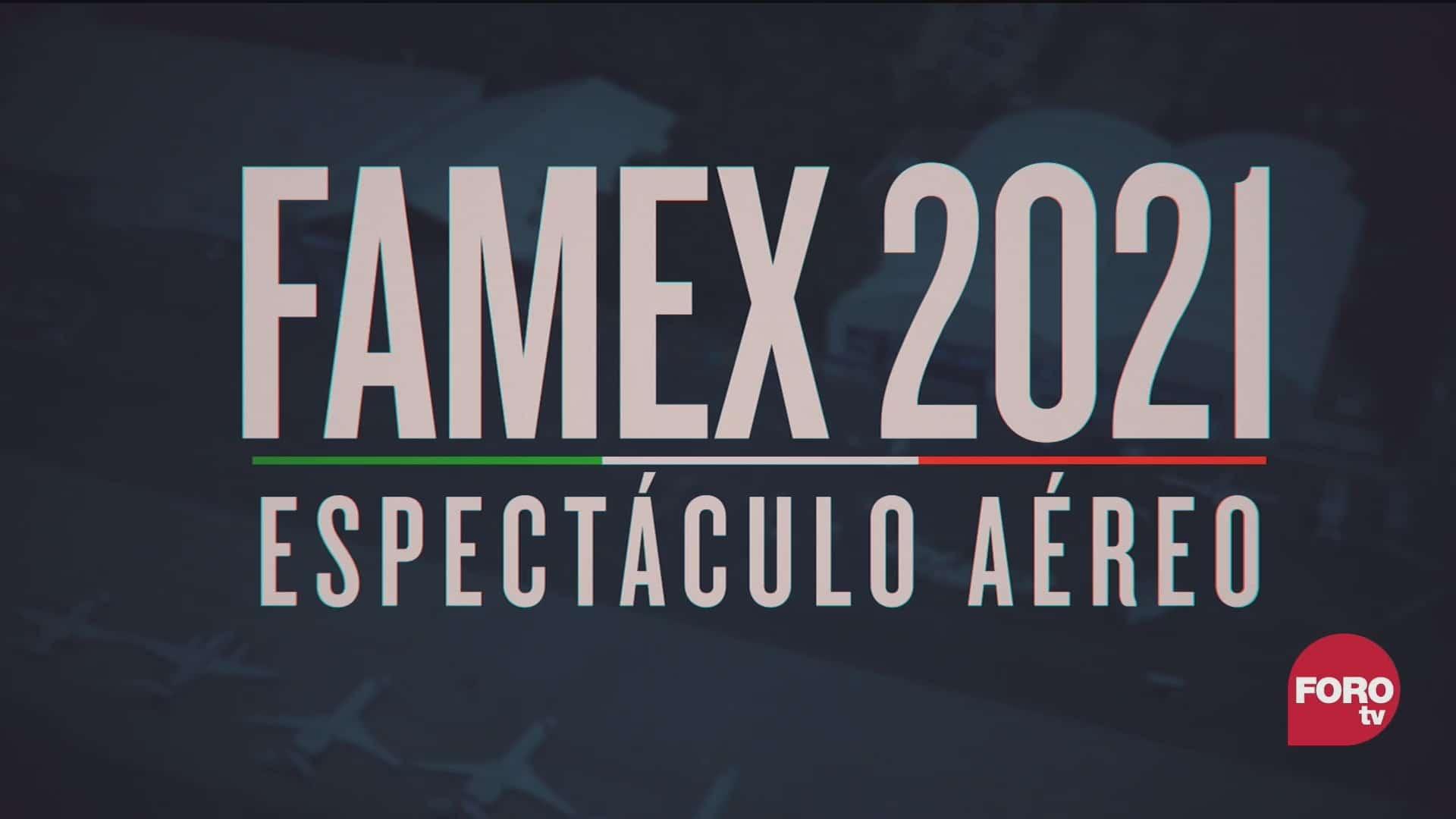 Feria Aeroespacial México 2021 en Santa Lucía