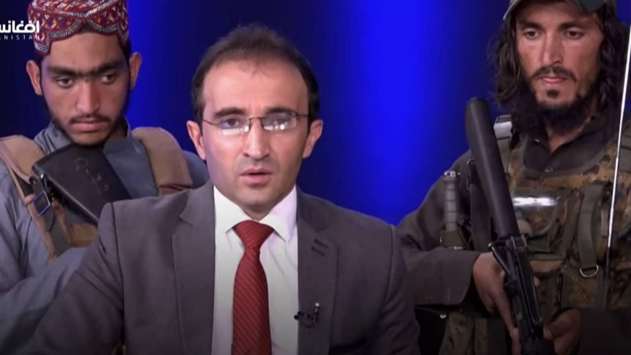 anfitrión, conductor, talibanes, Afganistán, captura de pantalla