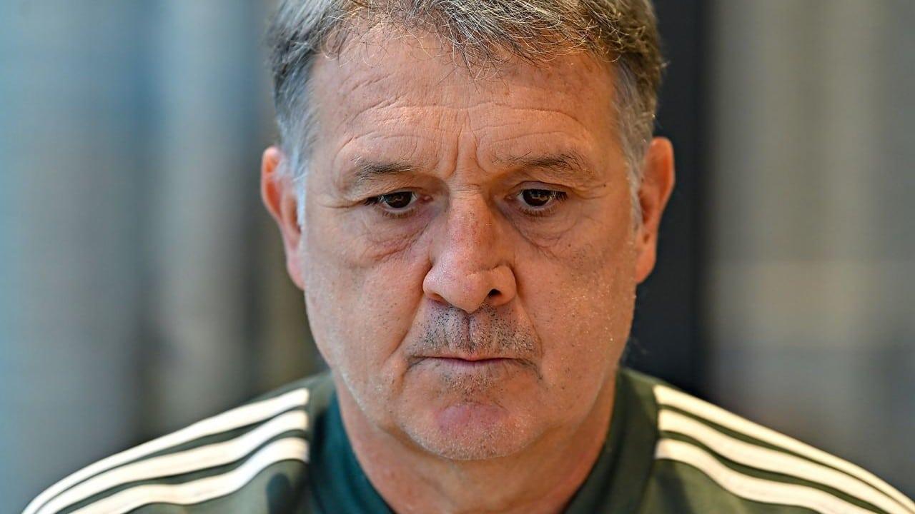 "Gerardo ""Tata"" Martino, técnico de la Selección Mexicana (Cuartoscuro)"