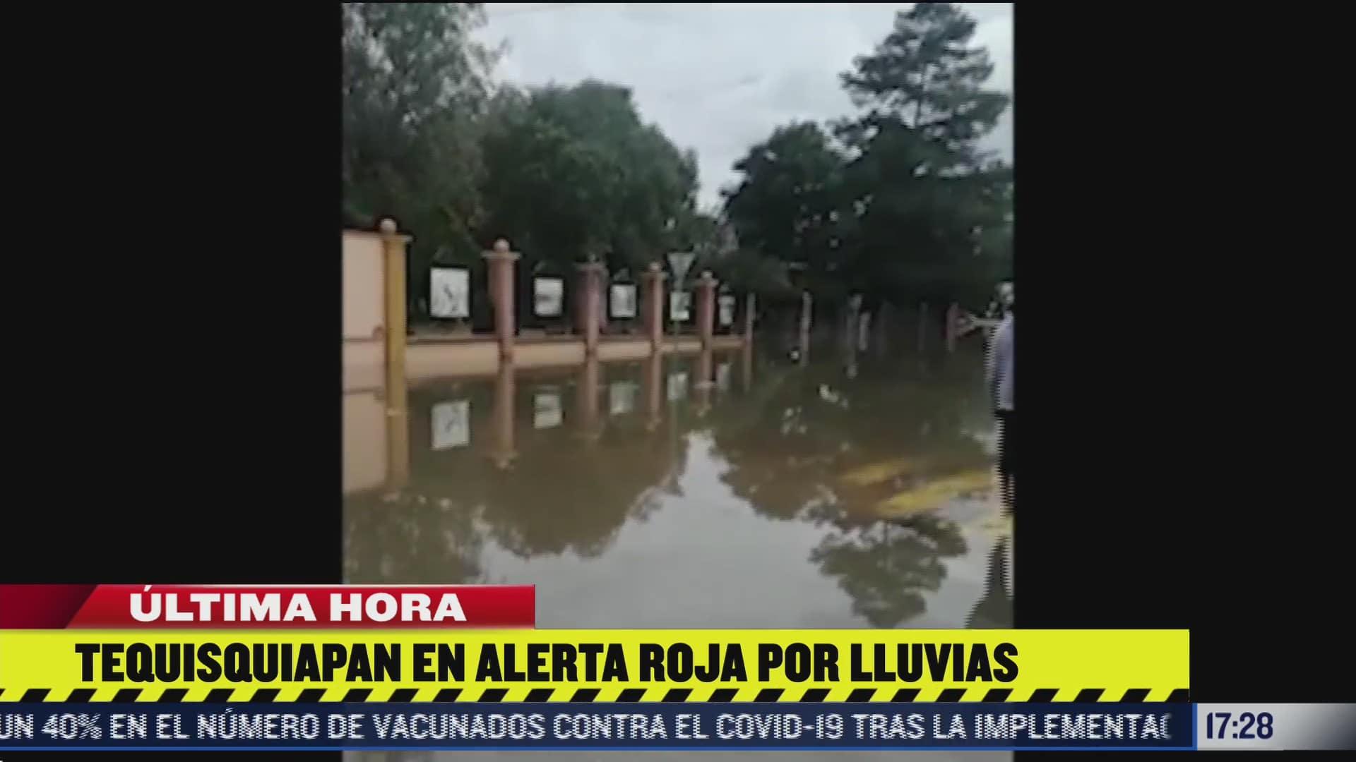 tequisquiapan pasa al semaforo rojo tras fuertes lluvias