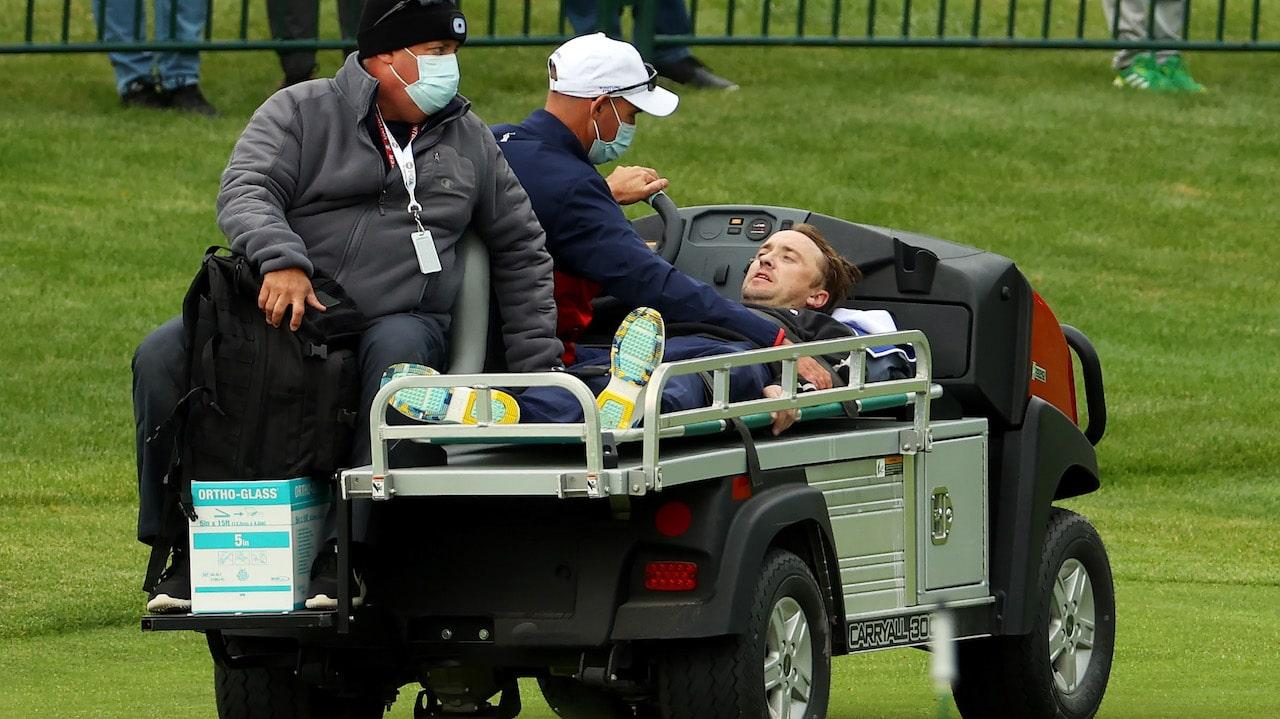 Tom Felton Colapso Juego Golf