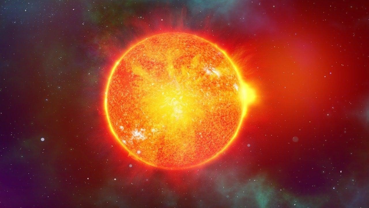 tormenta solar, llamarada solar, internet, apagón, imagen ilustrativa