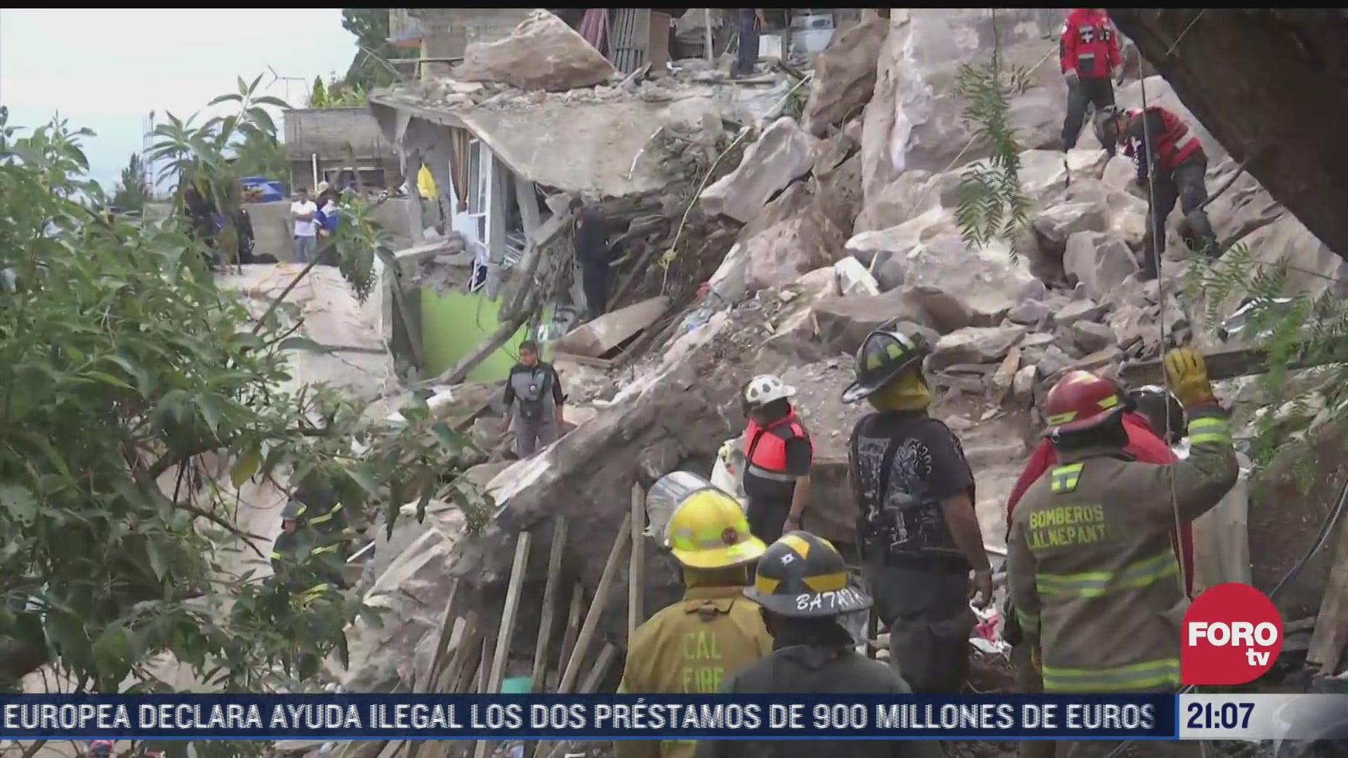 tragedia dolor y desesperacion los ecos del derrumbe en cerro del chiquihuite