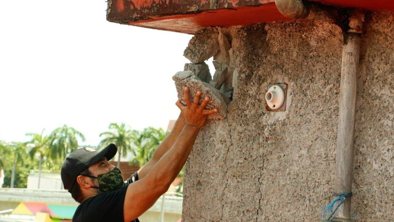 Tras sismo, ayuda no llega a las comunidades rurales afectadas de Acapulco