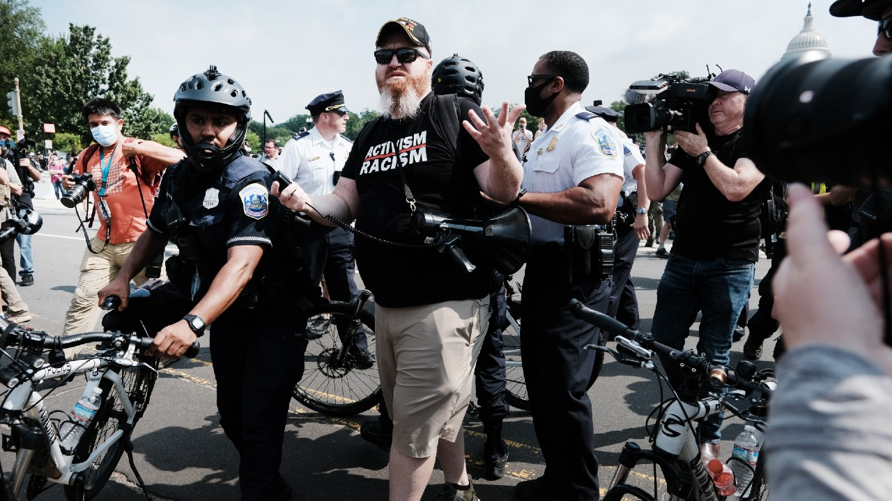 Fracasa protesta por detenidos en el Capitolio de EEUU