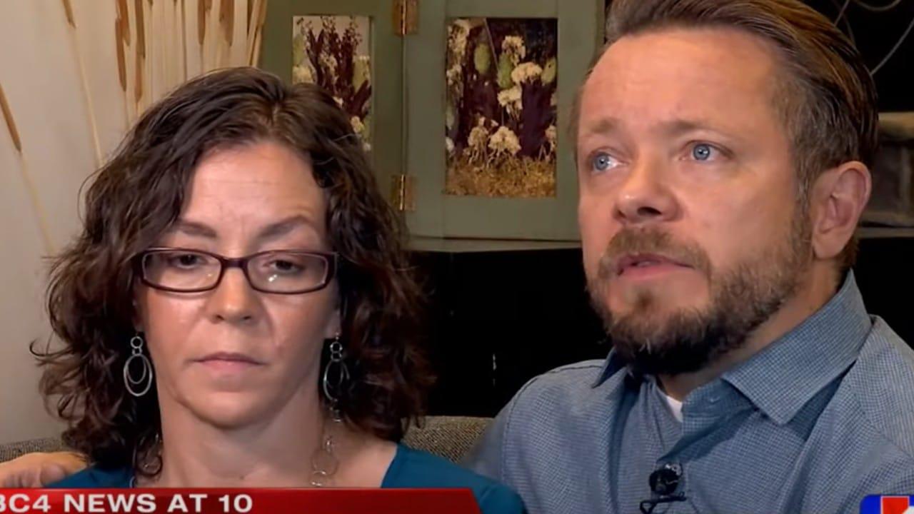 Vanner Johnson, Donna Johnson, padres, fertilidad, prueba de ADN, captura de pantalla
