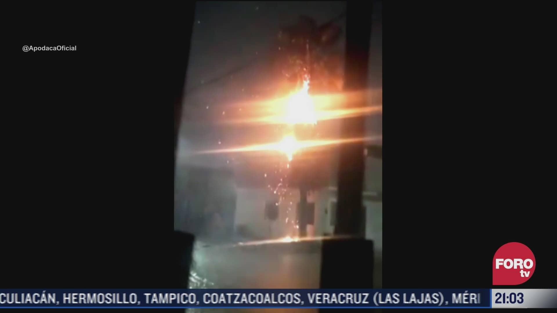 Video Caen impresionantes rayos en Nuevo León