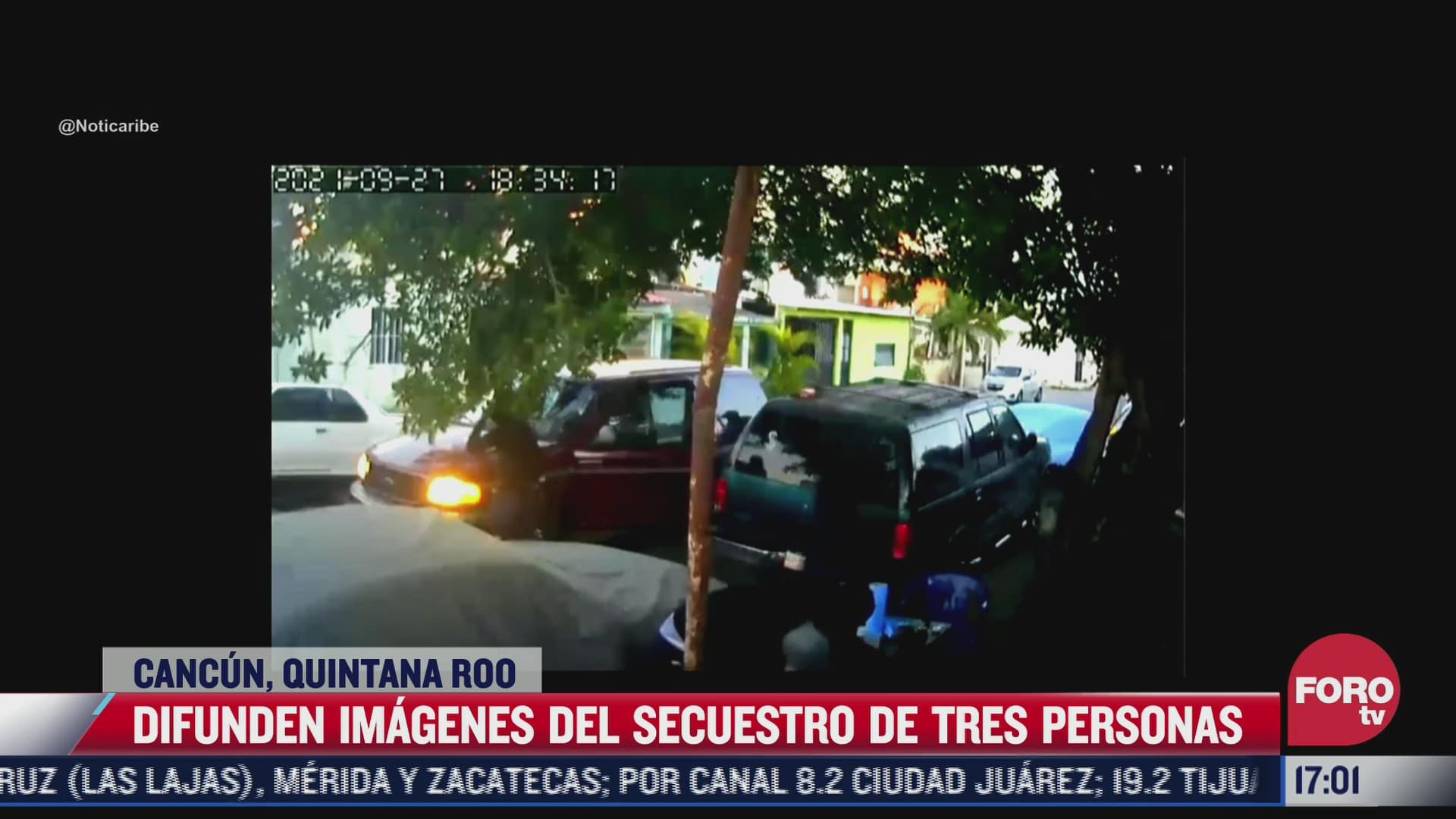 video secuestran a tres personas en cancun quintana roo
