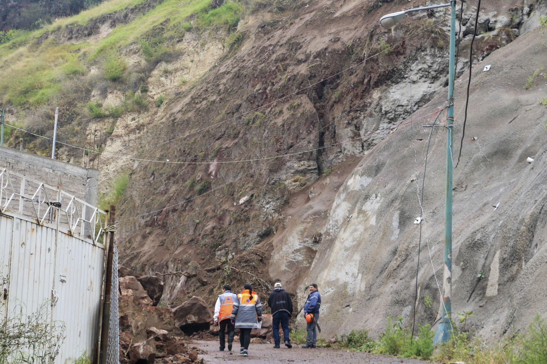 Viviendas en Cerro del Peñón del Marqués, en Iztapalapa, en riesgo de sufrir deslaves