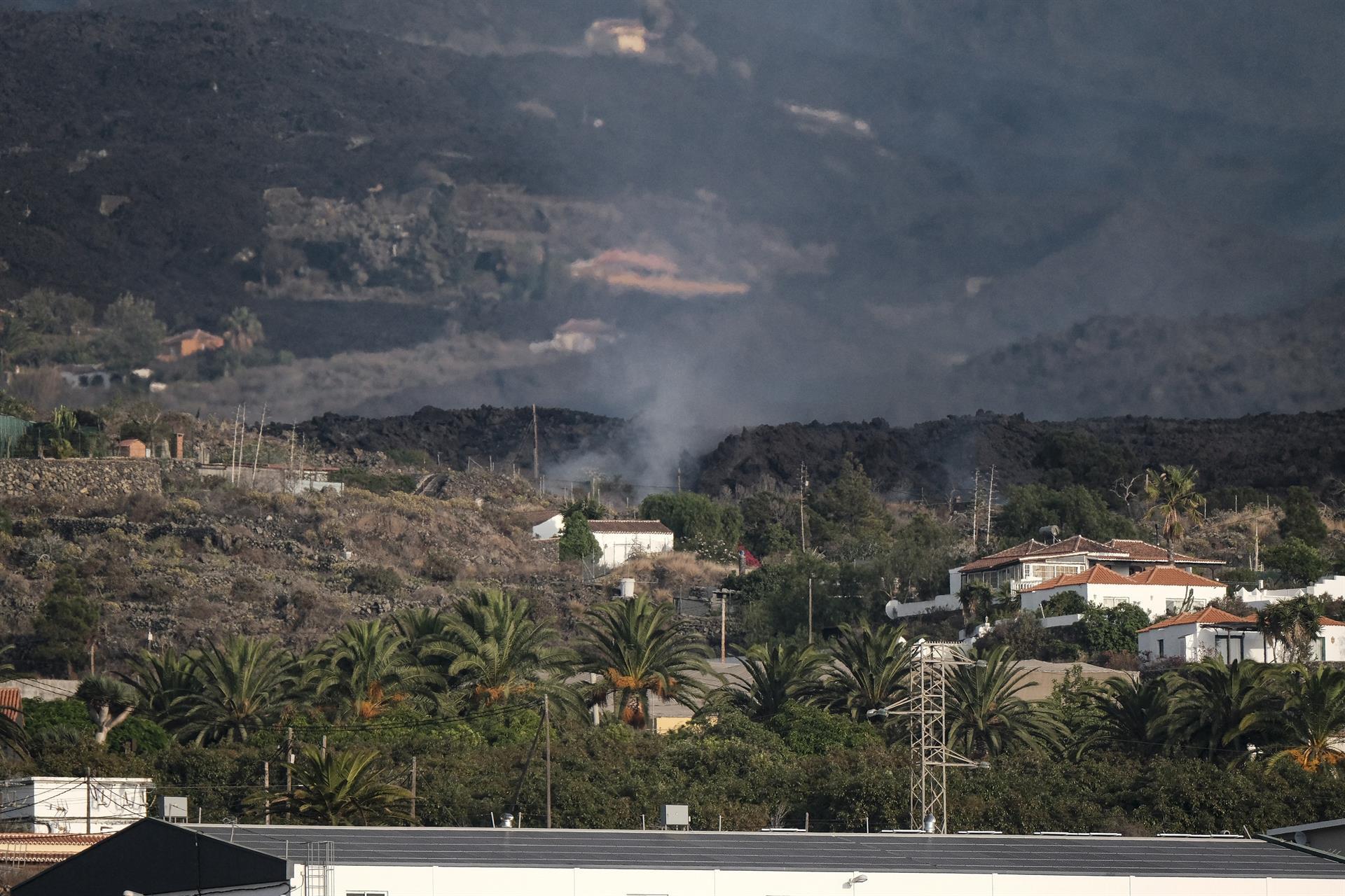 El volcán Cumbre Vieja en España se estabiliza tras una semana en erupción