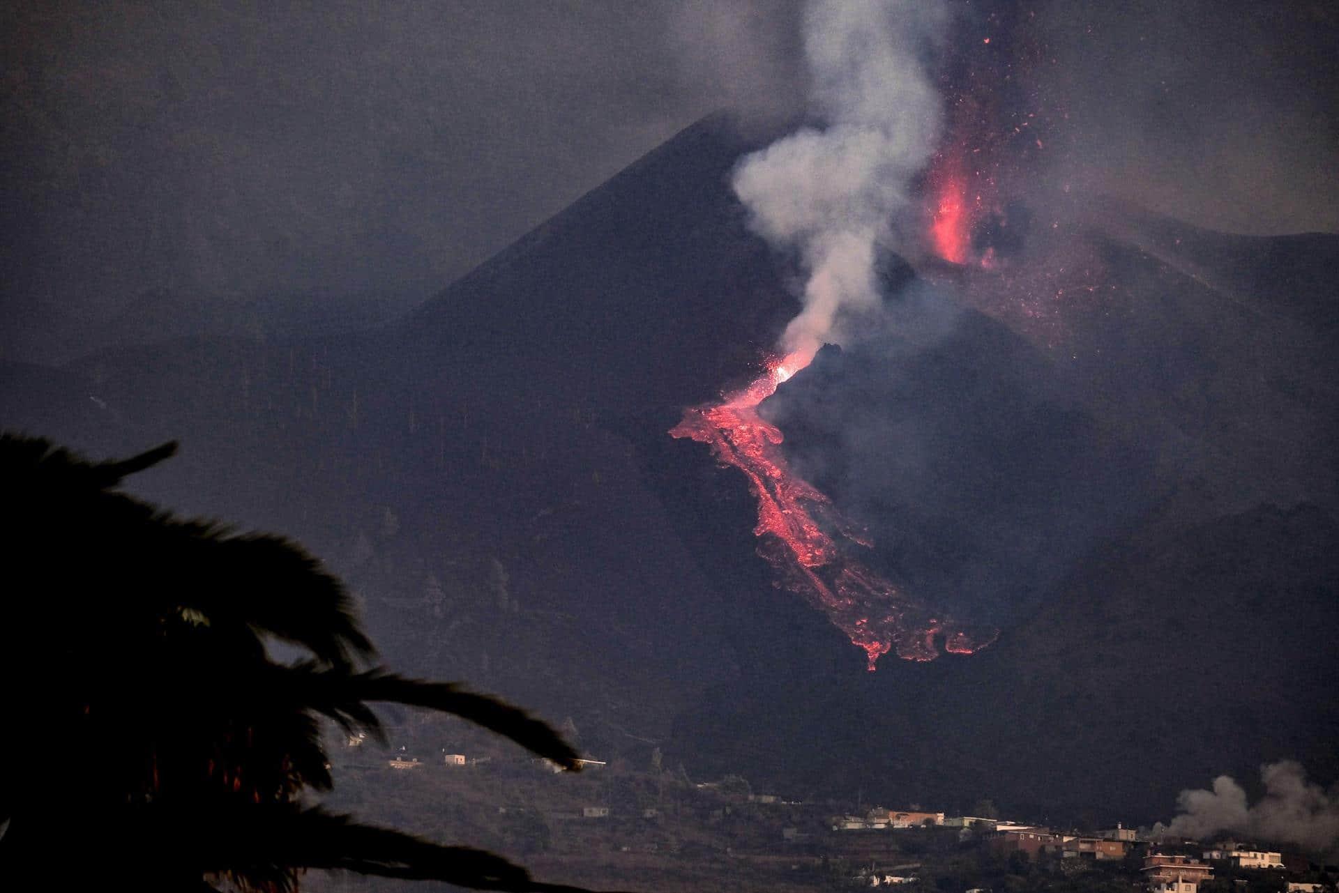 Erupción del volcán Cumbre Vieja (EFE)