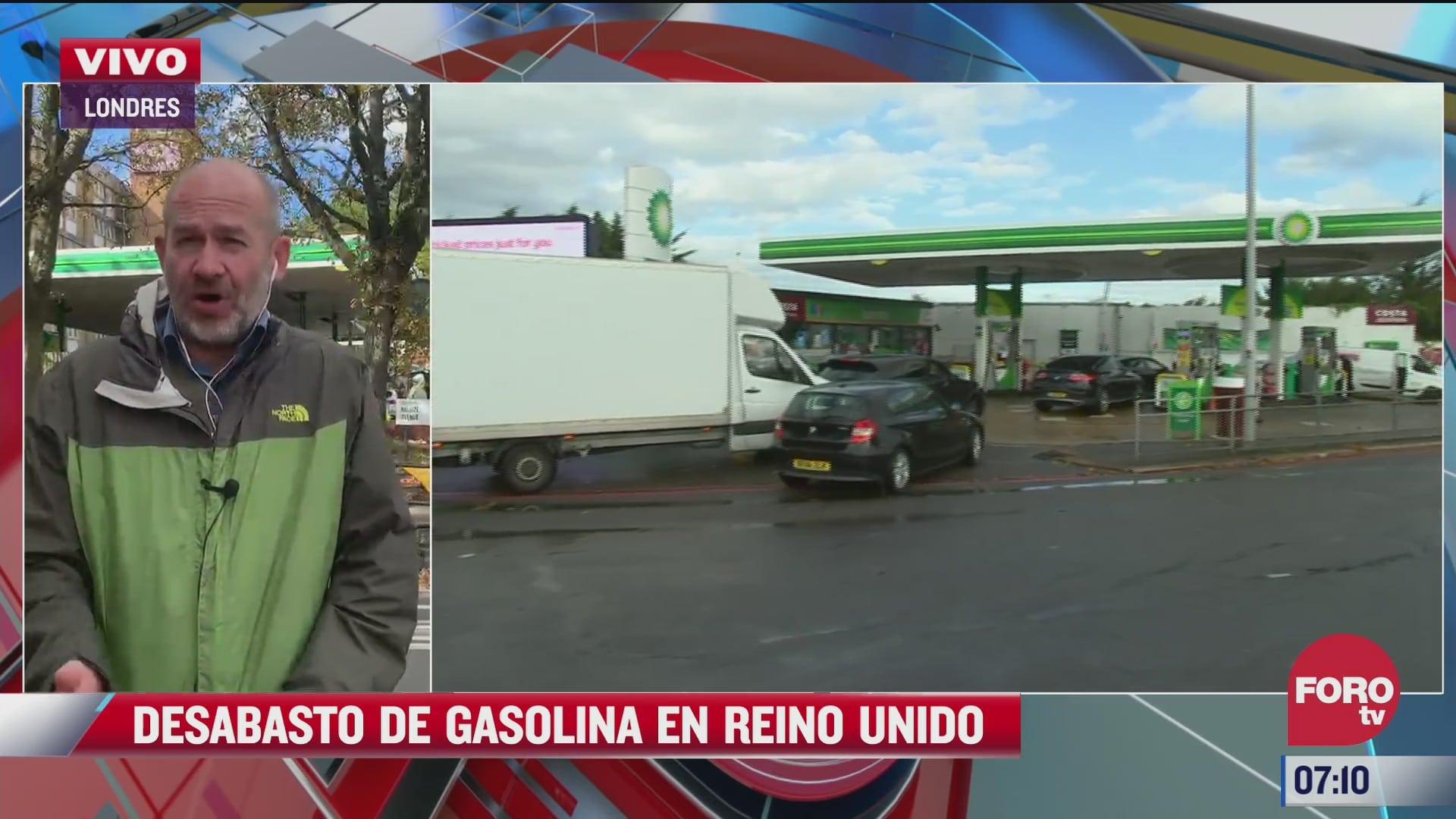 Crisis por desabasto de gasolina en Reino Unido daña su imagen a nivel mundial