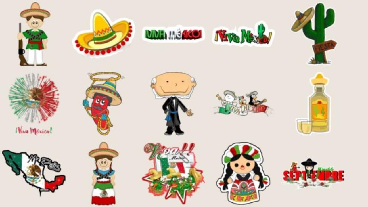 WhatApp: como descargar stickers de las fiestas patrias de México