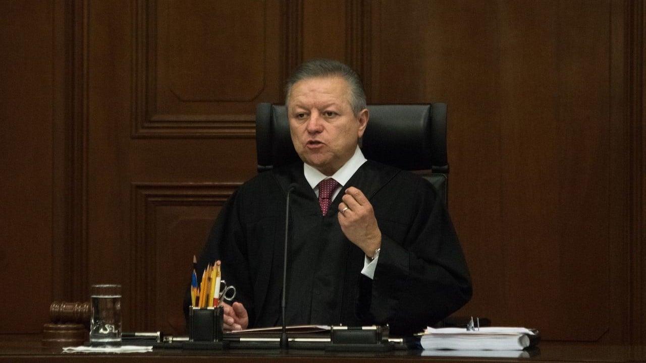 Arturo Zaldívar, ministro presidente de la Suprema Corte de Justicia de la Nación (Cuartoscuro)