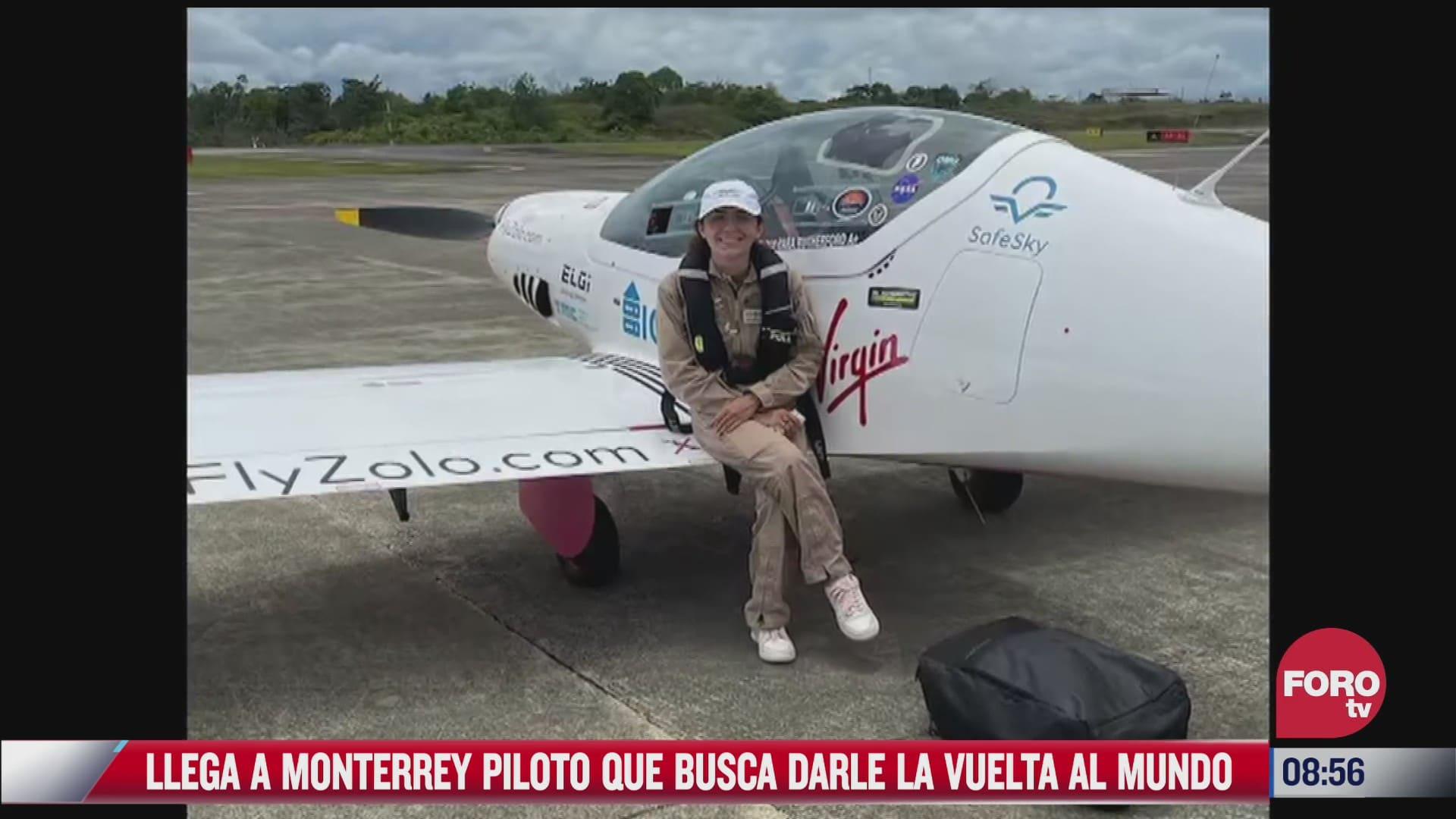 zara rutherford busca ser la piloto mas joven en darle la vuelta al mundo en solitario