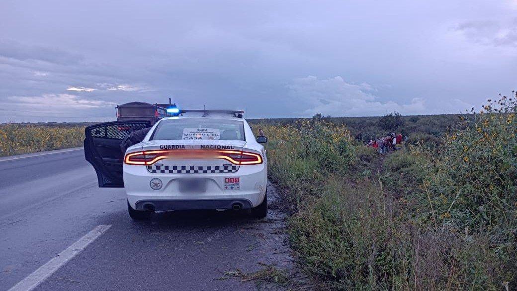 Accidente en carretera Zacatecas-Saltillo deja seis muertos