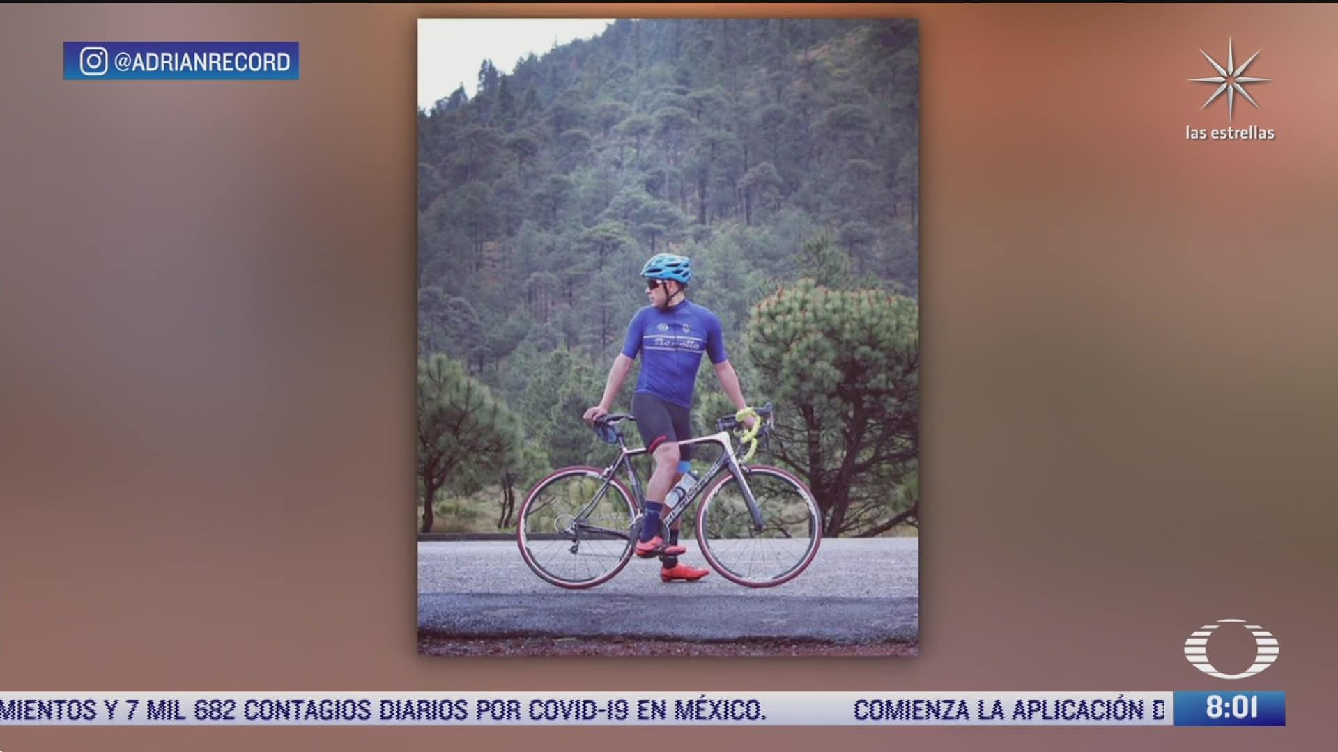adrian duran tapia ciclista de ultrafondo recorrera la ruta maya en 60 horas
